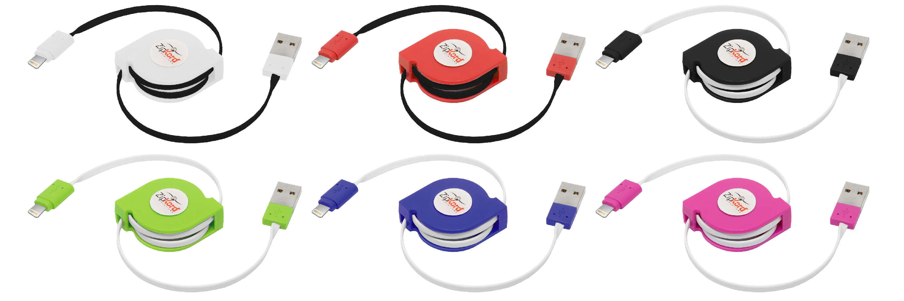 retractable lightning for apple cable zipkord