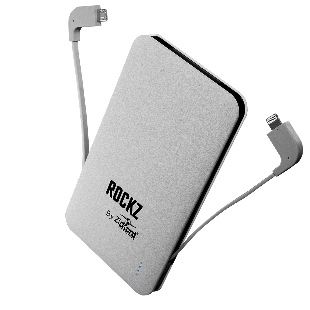 5000 mah power bank with integrated micro usb lightning for 5000 mah power bank with integrated micro usb lightning for apple cables sciox Gallery